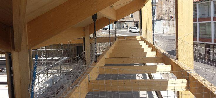 Cálculo de vigas de madera con e-struc en Reinosa