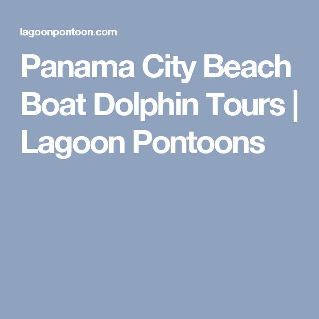 Panama City Beach Boat Dolphin Tours | Lagoon Pontoons