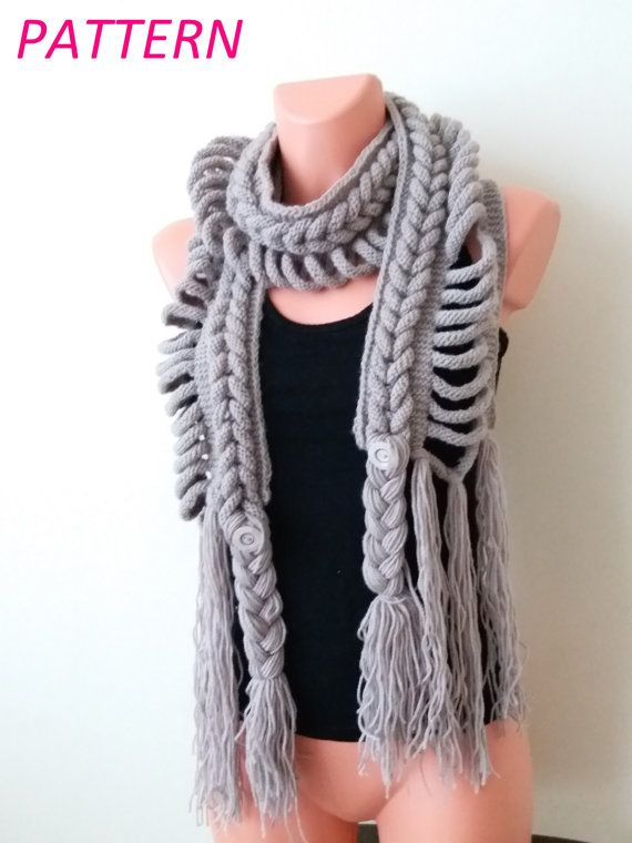 Hey, I found this really awesome Etsy listing at https://www.etsy.com/listing/250379180/knitting-scarf-pattern-long-scarf-pdf