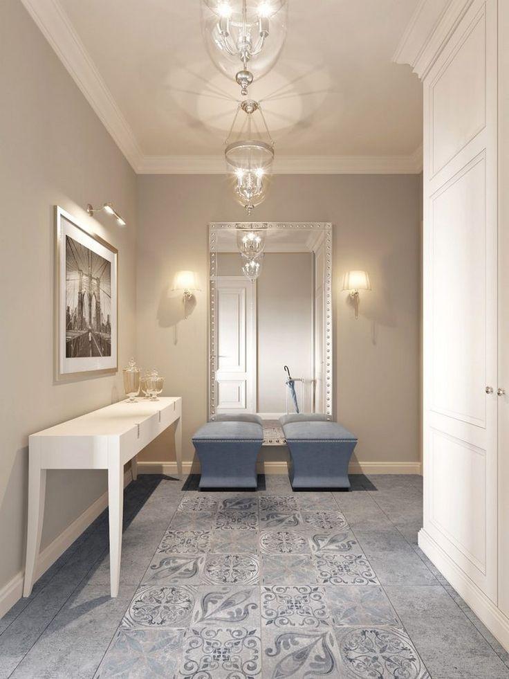 Modern és klasszikus harmóniája 79m2-en, egy amerikai stílusban berendezett elegáns lakásban