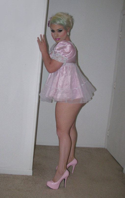 Pity, that transvestite sissy nighties can