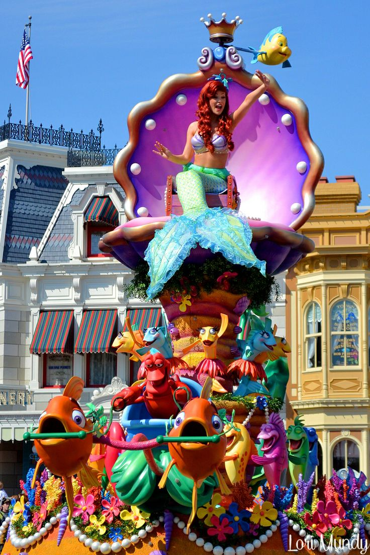 Photo from DisneyLori on Flickr: Festival of Fantasy Parade at WDW