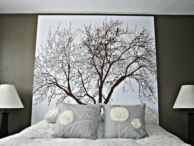 DIY | Shower Curtain Wall Art