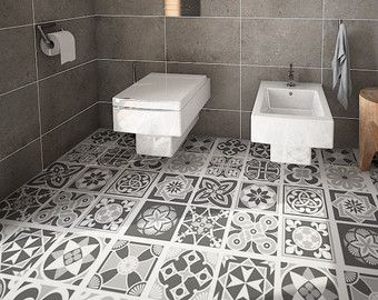 129 best images about for the home on pinterest for Spanish tile bathroom floor