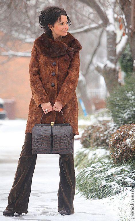 Верхняя одежда ручной работы. зимнее войлочное пальто ручной работы. Irena Levkovich WoolWonders. Интернет-магазин Ярмарка Мастеров.