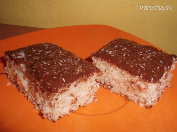 "Jednoduchý ""hrnčekový"" kokosový koláčik (fotorecept) - Recept"
