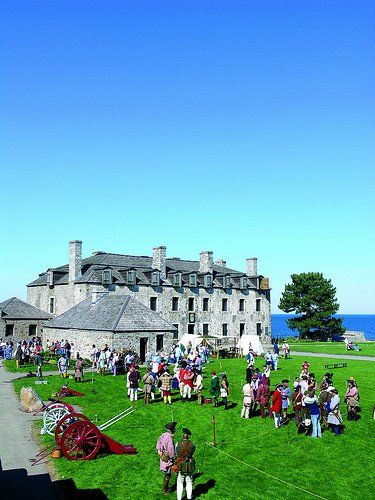 Old Fort Niagara, on Lake Ontario at the mouth of the Niagara River. Youngstown, NY