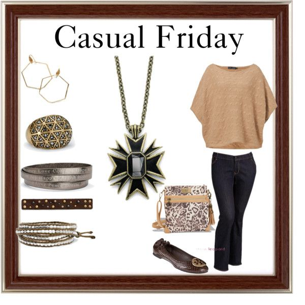"""""""Casual Friday"""" on Polyvore featuring jewelry from Cookie lee!  Cookielee.biz/robinmullen"""