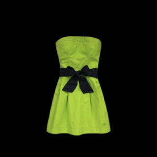 Cute lime green dress from Gilly Hicks