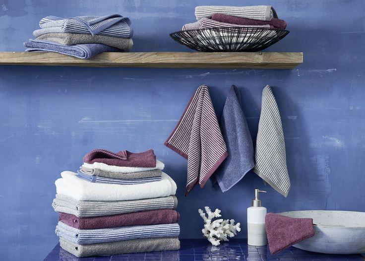 Living Crafts bath textiles. 100% organic cotton! http://www.purecoverz.nl/Category/26-bathroom.aspx