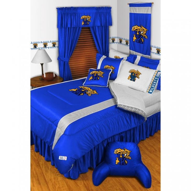 Sports Coverage University of Kentucky Wildcats Sidelines Bedding Series - University of Kentucky Wildcats Sidelines Bedding
