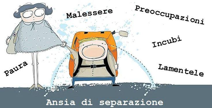 Disturbo d'ansia di separazione - Dott.ssa Orma M., Modena #ansia #paura #bambino #scuola #separazione