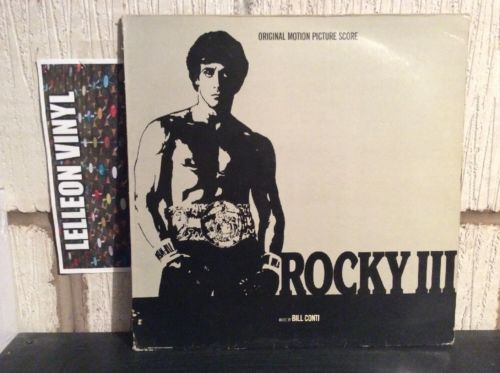 Rocky III Soundtrack LP Album Vinyl LBG30351 Film Movie 80's Sylvester Stallone Music:Records:Albums/ LPs:Soundtracks/ Themes:Film