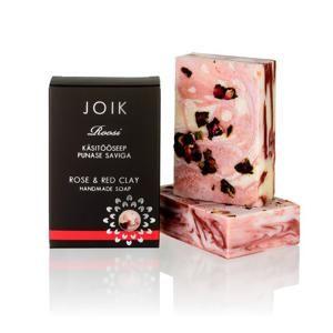 Mýdlo s růží a červeným jílem Joik