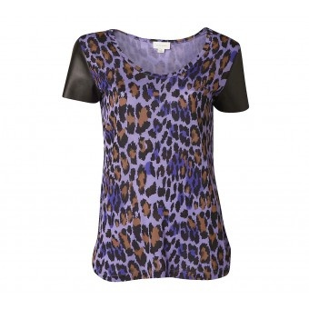 Leopard Front Tee - Tops - Her - Witchery