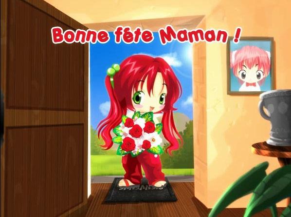 Carte fête des mères dans le plus pur style manga kawaï disponible gratuitement sur http://www.starbox.com/carte-virtuelle/carte-fete-des-meres/carte-fete-des-meres-cartoon