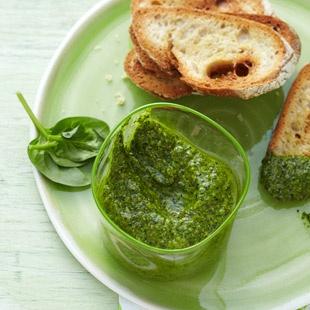 Spinat-Pesto