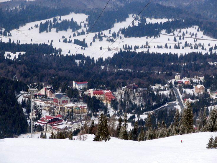 Poiana Brasov winter sports resort near Brasov