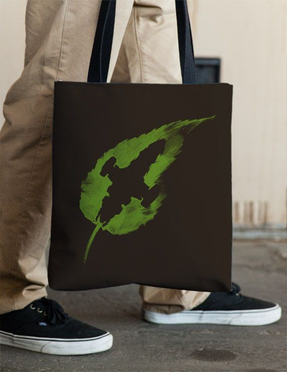Firefly  Serenity  Leaf on the Wind  Tote by Vincent Carrozza