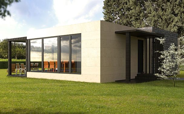 10 best images about modelos est ndar de casas - Cube casas prefabricadas ...