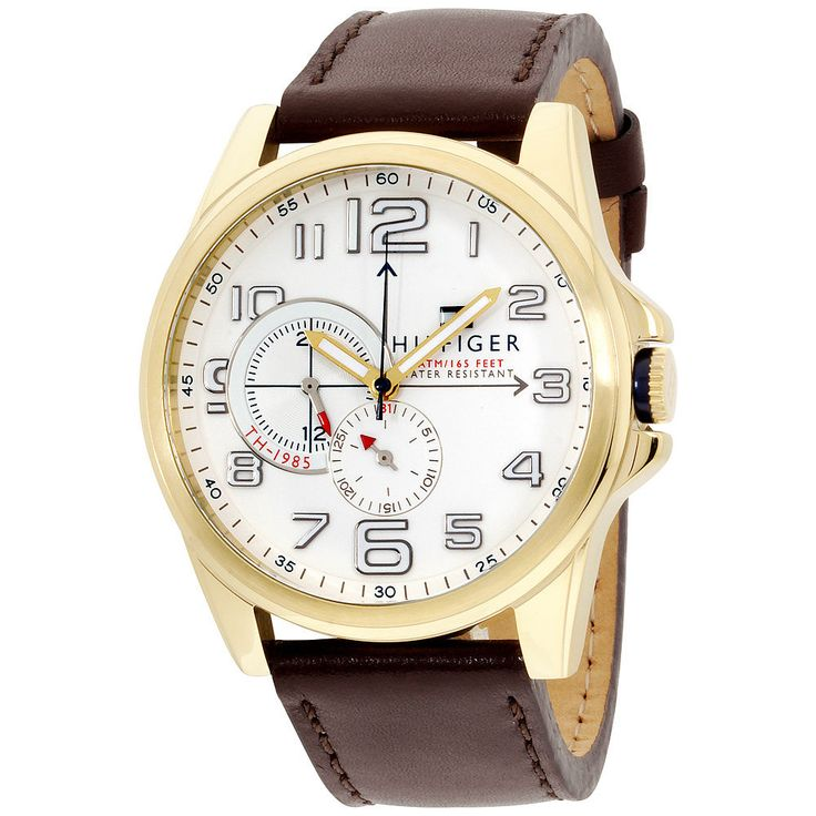 Item specifics     Condition:        New with tags: A brand-new, unused, and unworn item (including handmade items) in the original packaging (such as    ... - #Watches https://lastreviews.net/fashion/mens/watches/tommy-hilfiger-mens-1791003-stainless-steel-watch-with-brown-leather-band/