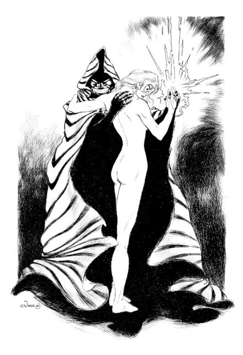 Cloak and Dagger by Charles Vess