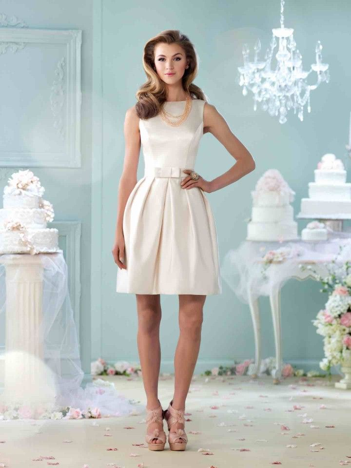 134 best Short Wedding Dresses images on Pinterest | Short bridal ...