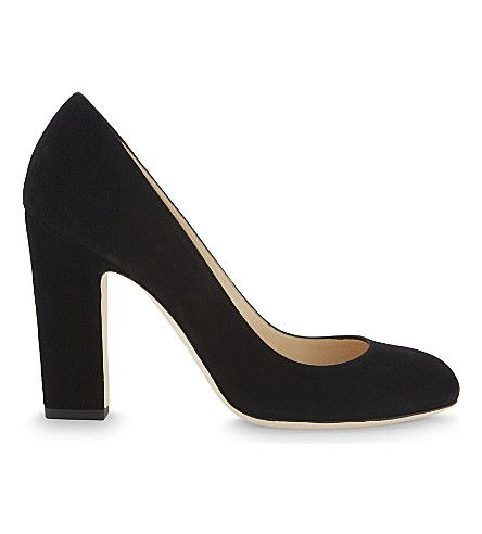 JIMMY CHOO Billie 100 Suede Courts. #jimmychoo #shoes #heels