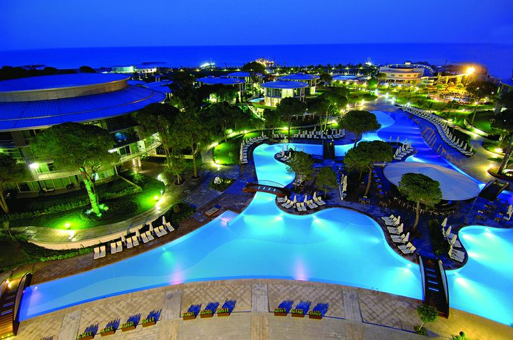 Hôtel Calista Luxury Resort *****, Riviera Turque, Belek http://bit.ly/CalistaLuxury