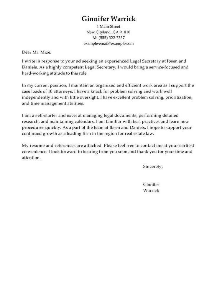26+ Best Font For Cover Letter Cover letter for resume
