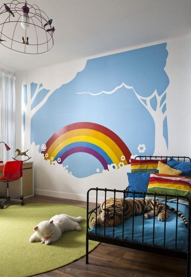 Farb Und Wandgestaltung Im Kinderzimmer 77 Tolle Ideen Kinder
