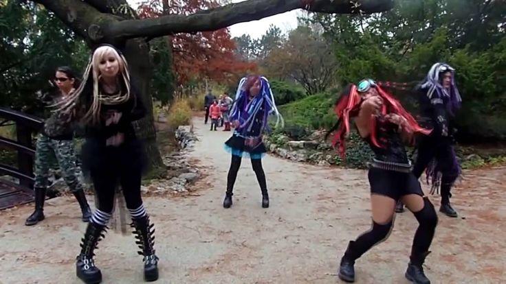 VNV NATION JOY\#Dance INDUSTRIAL >>>Pitie Oudy &Ϛ ^*ALLSTAR*^ ~ cast -- Cyberpunk ʅ ⁄ᨊֆ --