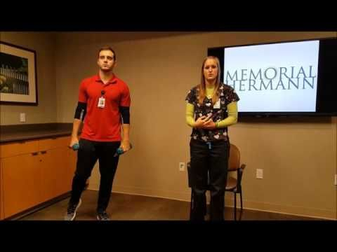 At-home Strength Training for Cardiac Rehab Patients - YouTube