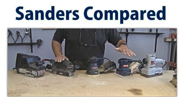 Wood Sander Overview – Beginners #12 – a woodworkweb woodworking video   Woodworkingguides.info