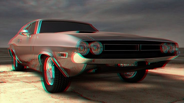 anaglyph car by stanculau.deviantart.com on @deviantART