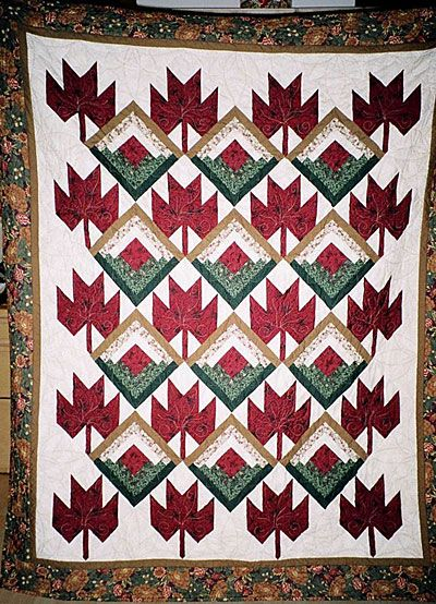 Canadian quilt of valour