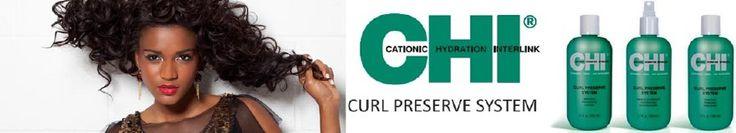 CHI Curl Preserve is een haarverzorgingslijn speciaal ontwikkeld voor krullend haar. De krullen worden perfect verzorgd en pluis wordt tegengegaan.