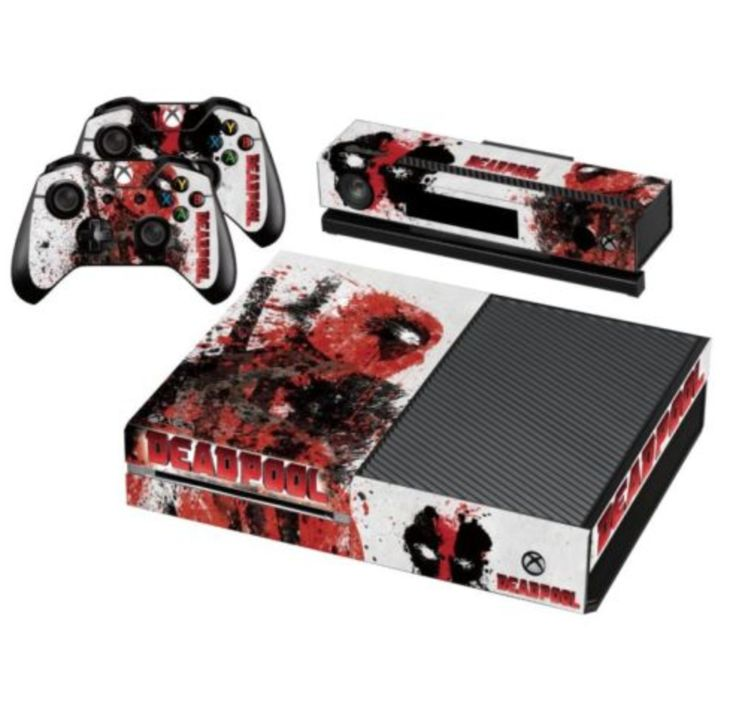 Deadpool SKIN for Your XBOX One Controller & Console