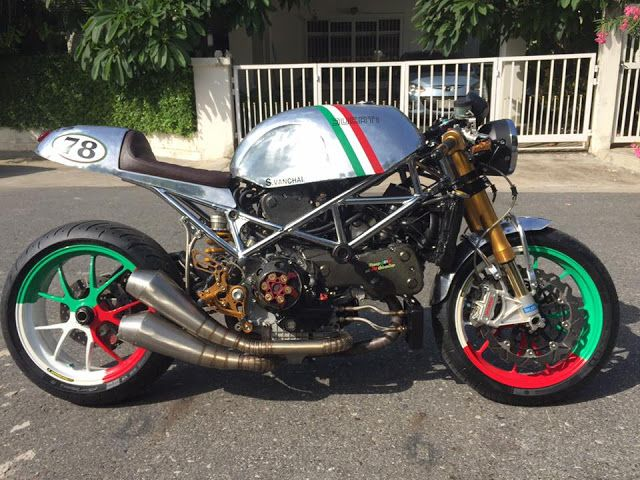 Ducati S4R Cafe Racer by Triple555 #motorcycles #caferacer #motos   caferacerpasion.com