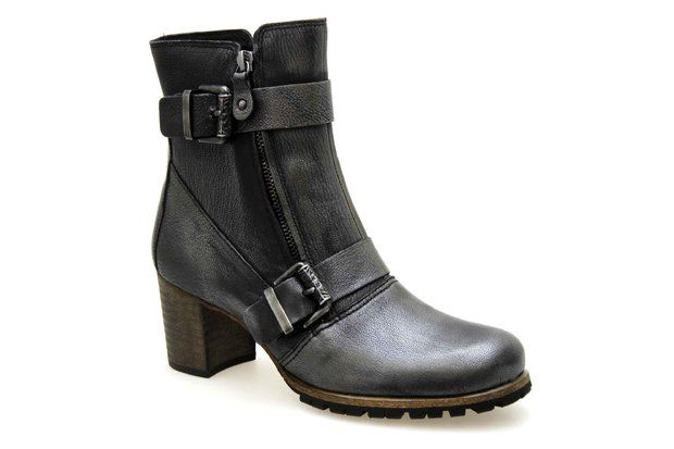 Boots KARSTON GLOMES Acier - Chaussures femme