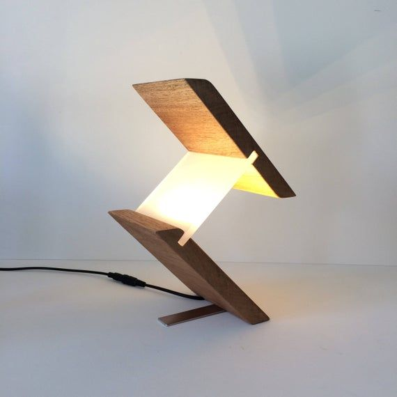 Lamp Lamps Table Lamp Desk Lamp Modern Lighting Unusual Etsy In 2020 Modern Desk Lamp Modern Lamp Desk Lamp