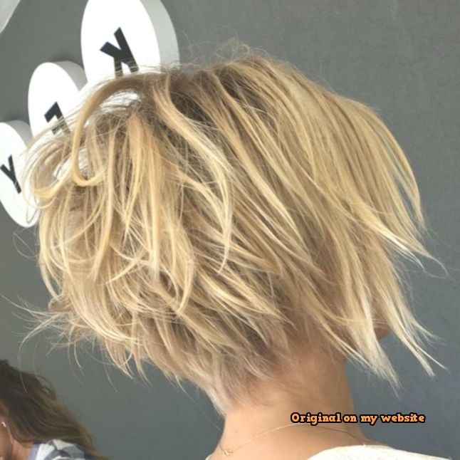 Bob Frisuren Kurz 2019-Continue tousled round head not just at back – haarschnitte #bobhairstyles #womenhairshort