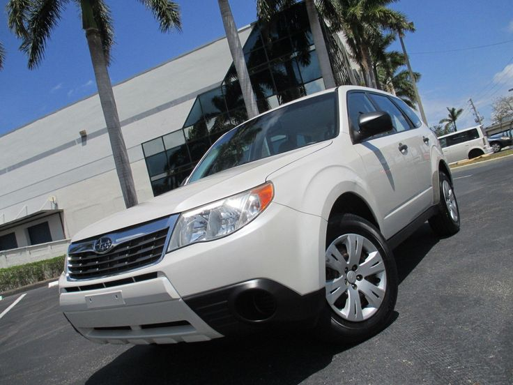 cool Amazing 2010 Subaru Forester X AWD ONE OWNER FLORIDA VEHICLE  2010 FORESTER X AWD 2018 Check more at http://24carshop.com/cars-gallery/amazing-2010-subaru-forester-x-awd-one-owner-florida-vehicle-2010-forester-x-awd-2018/