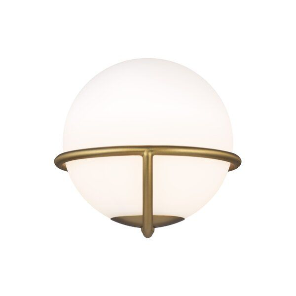 Apollo 1 Light Dimmable Flush Mount Wall Sconce Lighting Wall Sconce Shade Wall Sconces