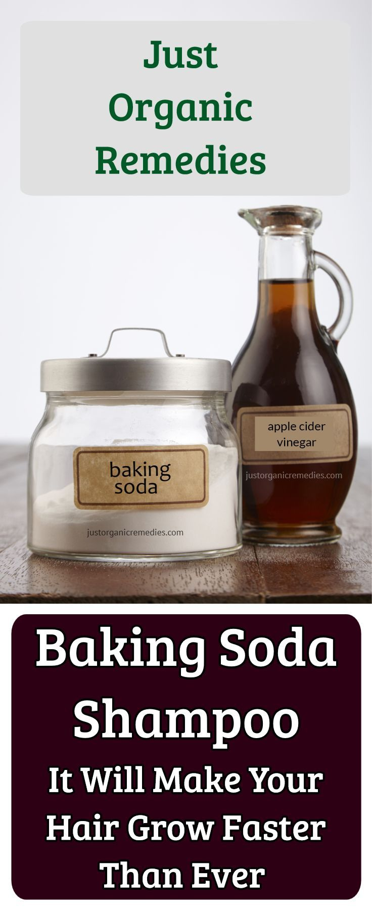 This incredibly beneficial substance enhances the quality of your hair and eliminates the residue of shampoo and conditioners, providing a long-lasting shine of the hair. You can use it instead of your regular shampoo and enjoy its amazing effects. #bakingsoda #applecidervinegar #hairgrow
