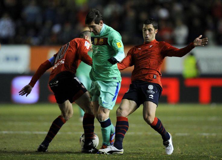 Lionel Messi Photos: CA Osasuna v FC Barcelona - Liga BBVA