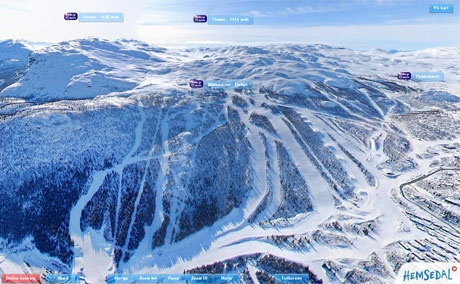I know there is wanderlust... is there skilust as well? (SkyCam Hemsedal, NO)