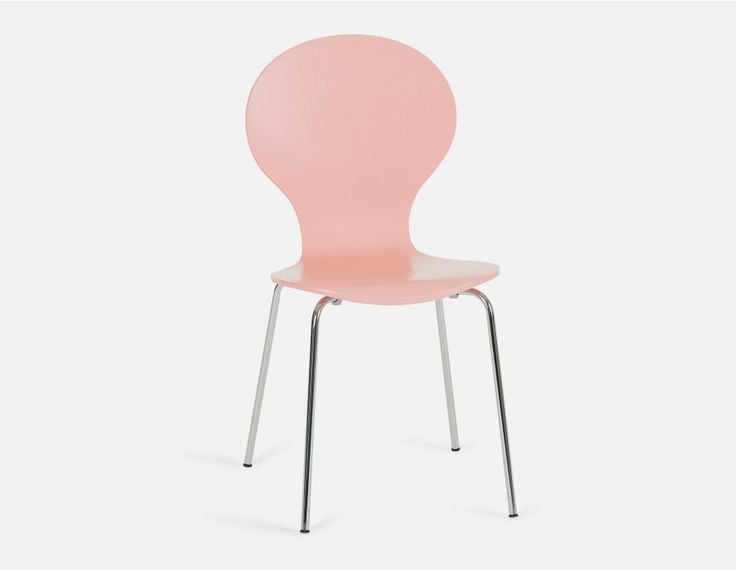 BUNNY - Chaise en multiplis - Rose