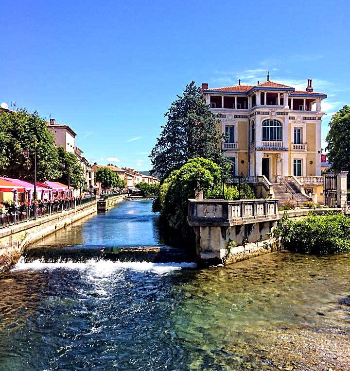 Isle sur la Sorgue Provence France : The Good Life France