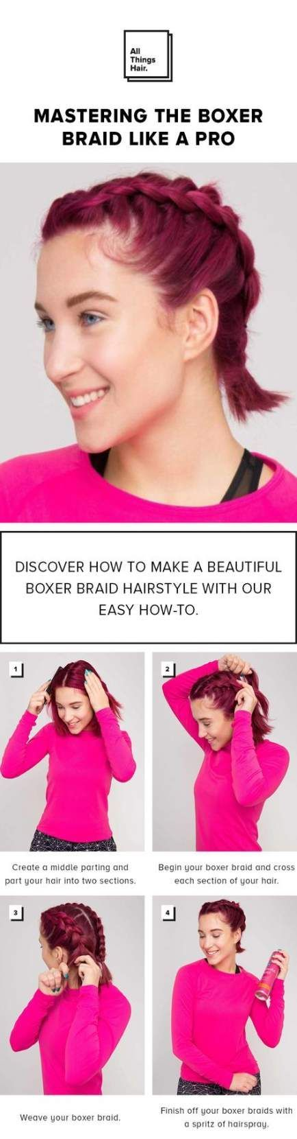 Zöpfe Tutorial Easy Boxer 32 Ideen, #Boxer #Easy #Ideen #Tutorial #Zöpfe